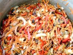 Салат з баклажанів. Смачно і корисно