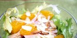 Салат з курки і лимона