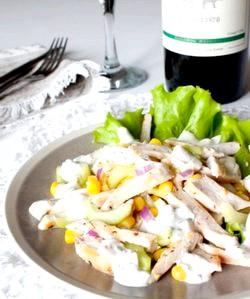 Салат з курки і огірків: відмінні рецепти