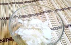 Салат з курки з грушами, цибулею і селерою. Рецепт з покроковим фото