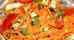 Салат з корейською морквою фото