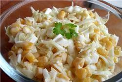Салат з кукурудзою фото