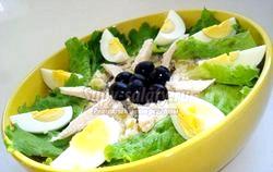 Салат «Столичний» з курки. Рецепт з покроковими фото фото
