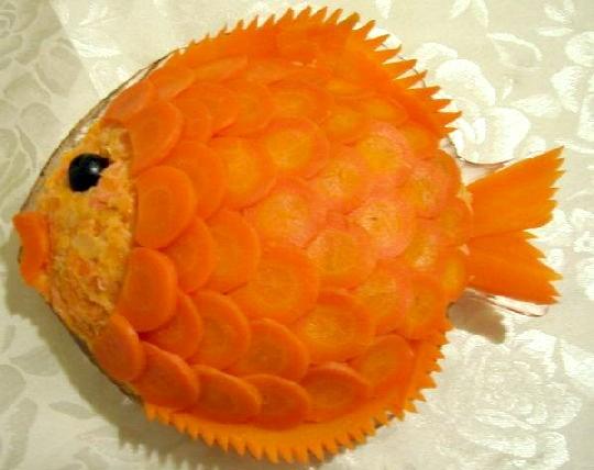 Салат Золота рибка