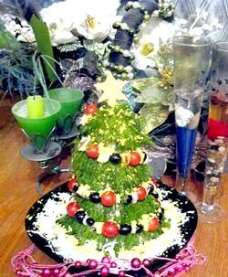 Салати на новий рік 2012