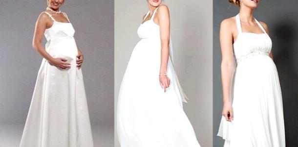 Найкрасивіші весільні сукні для вагітних (ФОТО) фото