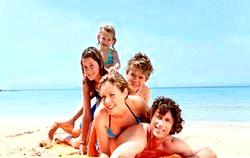 Сімейний відпочинок за кордоном