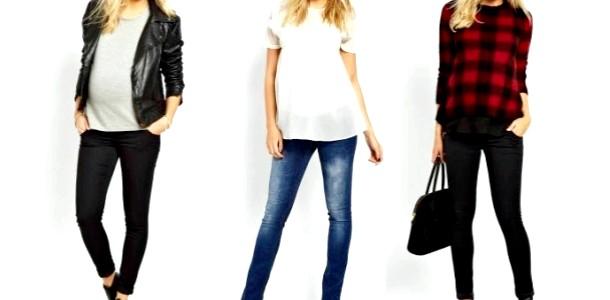 Стильна вагітність: як вибрати джинси