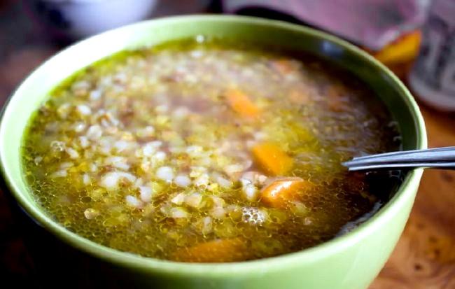 Суп гречаний
