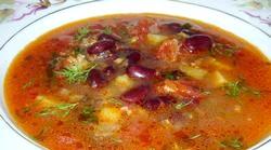 Суп з курки з квасолею. Смачні рецепти