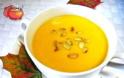 Суп-пюре з гарбуза. Кращі рецепти
