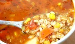 Суп з перловкою