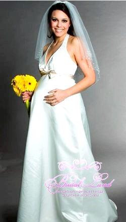 Весільні сукні для вагітних. Фото та поради щодо вибору