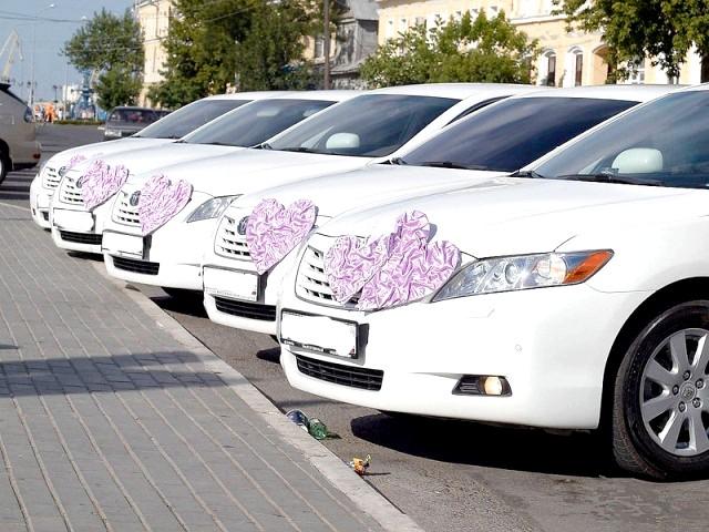 Весільний кортеж - як вибирати машину для весілля?