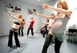 Танці для вагітних