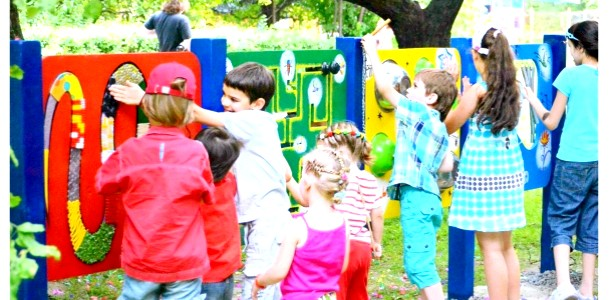 У Києві відкрилася майданчик для дітей з особливими потребами (ФОТО)