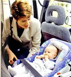 Ваш малюк і його безпеку в машині