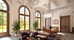 Ваша вітальня в класичному стилі