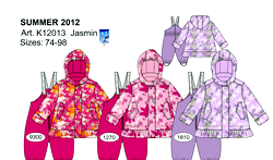 Верхня дитячий одяг: весна 2012