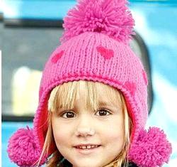 В'язання дитячої шапки на спицях. Майстер клас