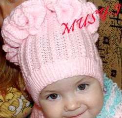 В'язання для дітей шапочки