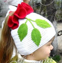 В'язання для дітей - шапочки фото