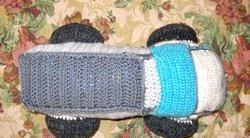В'язання іграшок. Машина. Майстер клас з фото