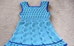 Вязание. Сукні для дітей