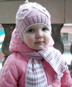 В'язання шапок для дітей фото