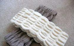В'язання шарфа спицями