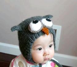 В'язані шапки для дітей