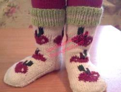 В'яжемо шкарпетки дітям. Кращі схеми