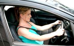 Водіння автомобіля при вагітності