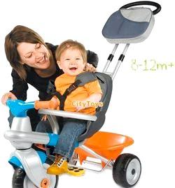 Вибираємо дитячий триколісний велосипед