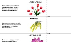 Загадки про квіти фото