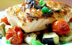 Запечене філе риби в духовці