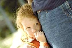 Сором'язливий дитина. Дитячі страхи