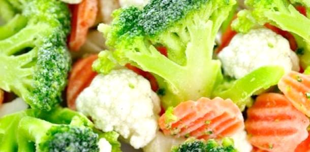 Здорове харчування: вибираємо заморожені овочі (відео)