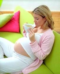 Зелений чай при вагітності