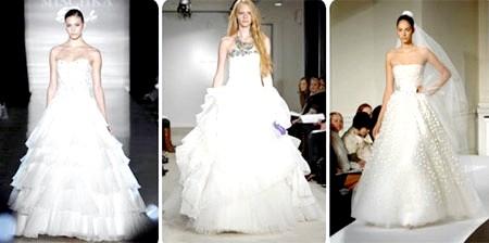 сукні на весілля з відтінками білого