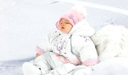 Зимові комбінезони для дітей до року
