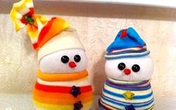 Зимові поробки в дитячому садку фото