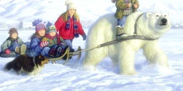 Зимова казка: діти і сніг