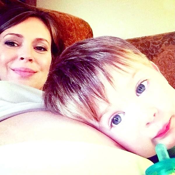 Зоряний Instagram: вагітна і щаслива Ольга Цибульська фото