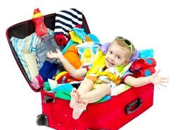 Що взяти з собою в подорож з дитиною?