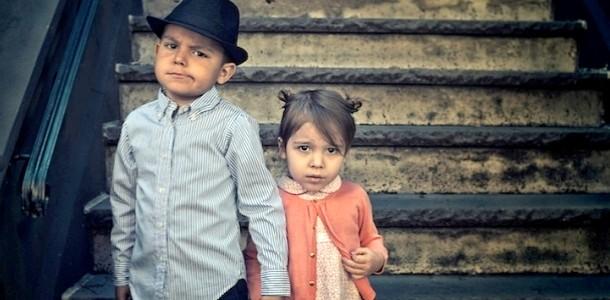Фотопроект «Епохи життя моїх дітей» від Тайлера Оріека
