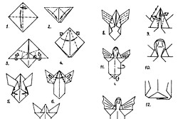 Як зробити орігамі з паперу? Фото, Ідеї та майстер-класи