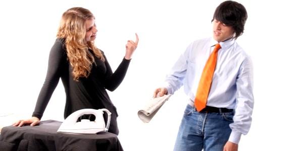 Як змусити чоловіка допомагати по дому?