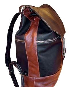 Класичний рюкзак зі шкіри
