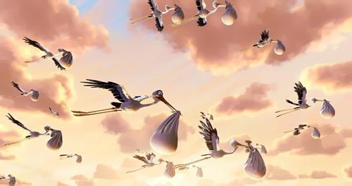 Короткометражний мультфільм «Мінлива хмарність» («Partly Cloudy»)